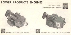 Power Products 1962 Rupp catalog